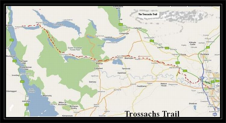 The trossachs trail