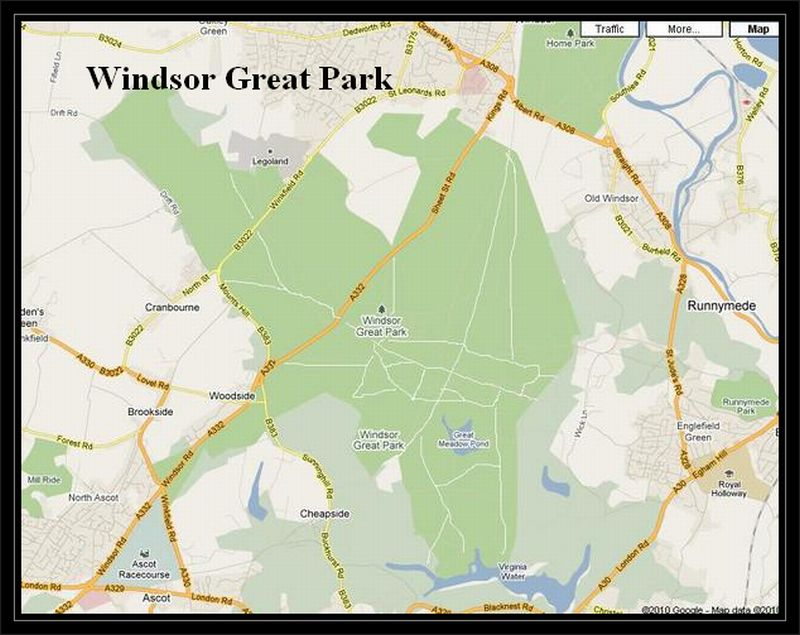 Windsor Great Park To Castle